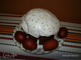 Кулич (рецепт В.Похлебкина)