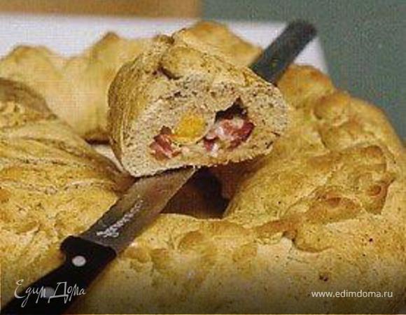 Хлеб с начинкой (PANE CONTADINO)⎝⏠⏝⏠⎠