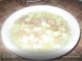 Густой картофельный супчик с индейкой