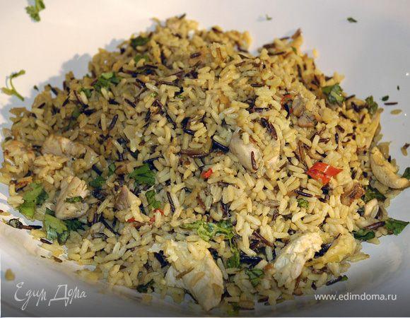 Ароматный рис с цыпленком