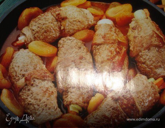 Завиванцы из телятины со сладким перцем
