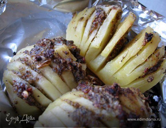 Картошка с чесночным маслом