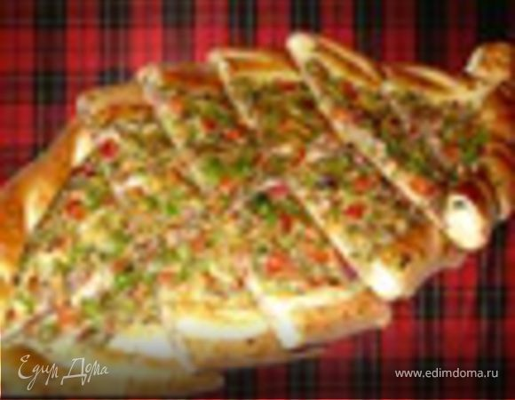 """Пицца """"Пиде"""" с сыром"""