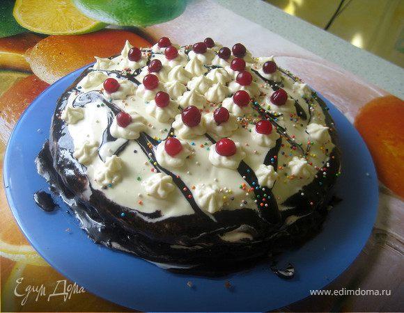 """Торт """"Шоколадное чудо"""""""