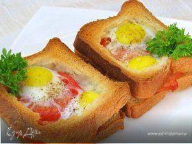 Горячие бутерброды с окороком