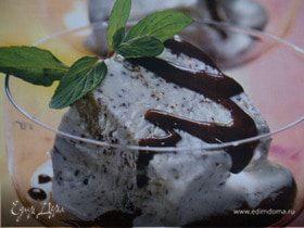 Мятный семифредо с шоколадом