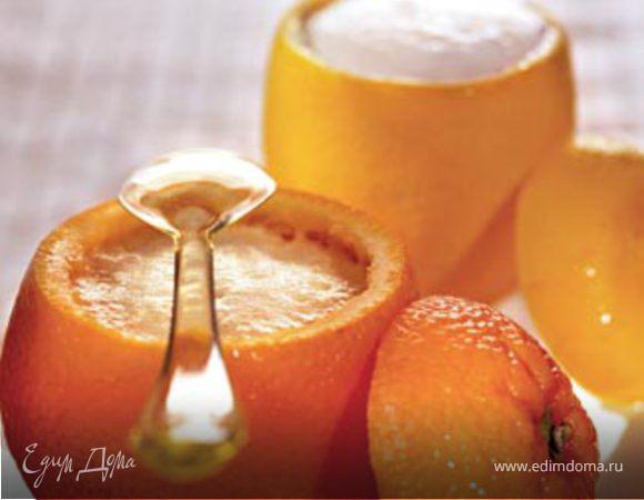 Апельсиновое и лимонное сорбе