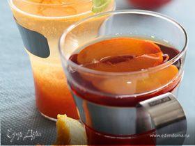 Холодный персиковый чай для детей и взрослых