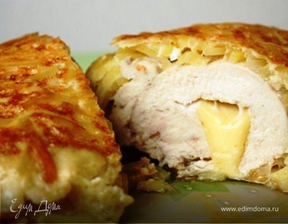 Куриное филе в картошке