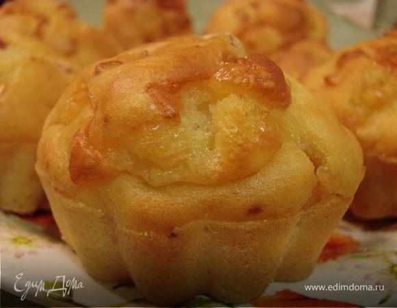 Сырные маффины на кефире – кулинарный рецепт
