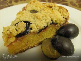 Чешский пирог с ягодами