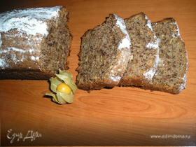 Шоколадный кекс с кешью и физалисом