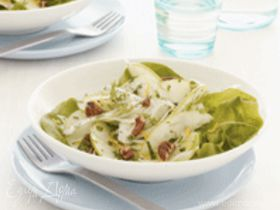 Салат из корня фенхеля(Finocchio) с яблоком