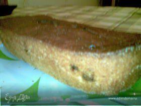 Творожно-изюмный кекс