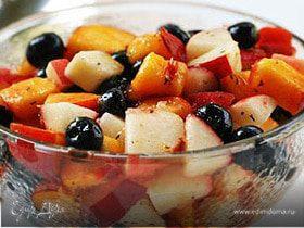 Фруктовый салатик с тимьяном