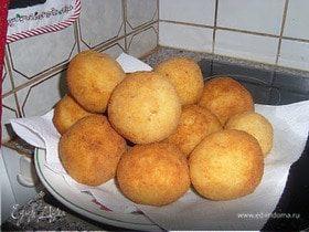 Рисовые шарики фаршированные