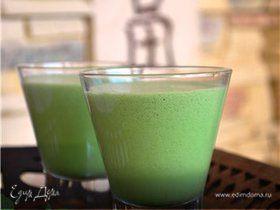 Зеленое мороженое