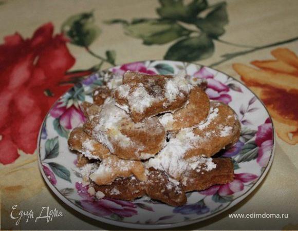 Рассыпчатое печенье с майонезом
