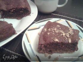 Шоколадно-ореховый кекс