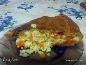 Тыквенный пирог (Кабак бэлеше)