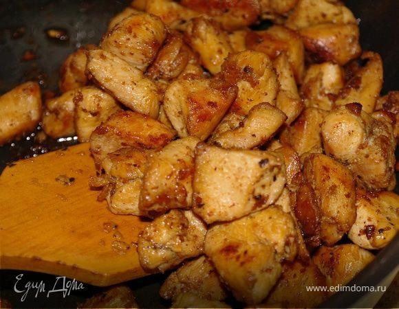 Курица + соево-чесночный маринад