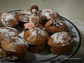 Ванильные кексы с ежевикой