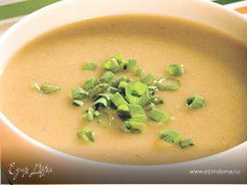 Овощной суп-пюре с сельдереем и кориандром