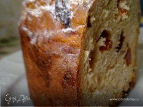 Панеттоне( итальянский дрожжевой рождественский кекс)