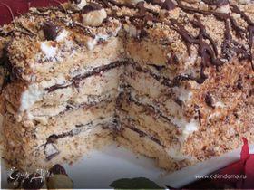 Ореховый торт-безе