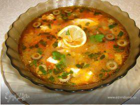 Рыбный суп-гуляш