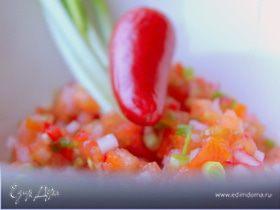 Сальса из помидоров и редиса