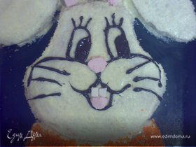 """Торт """"Новогодний Кролик"""""""