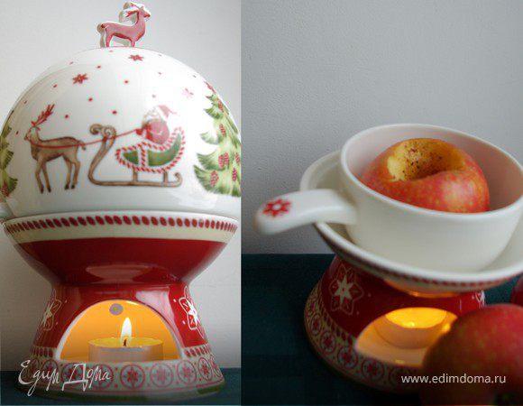 Рождественское яблоко с корицей