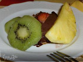 шоколадный баварский крем с корицей
