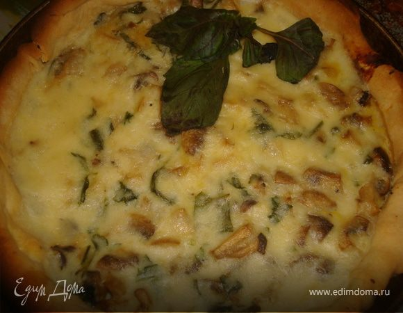 Crostata ai funghi - Пирог с грибами