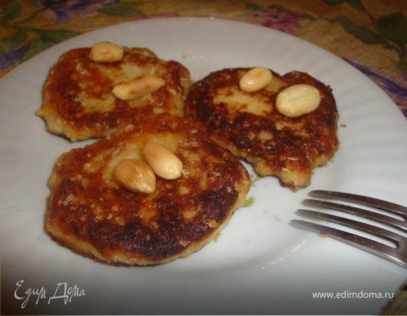 Овсяно-банановые сырнички