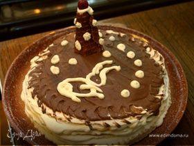 Домашний вафельный торт
