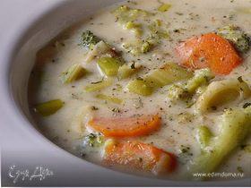 Суп-крем с брокколи