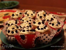 Черничные Cupcakes