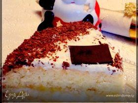 """Бисквитный торт """" Нежный"""""""