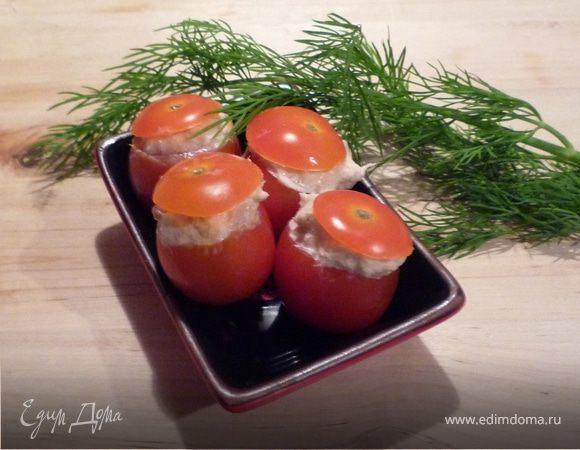 Фаршированные томаты-черри