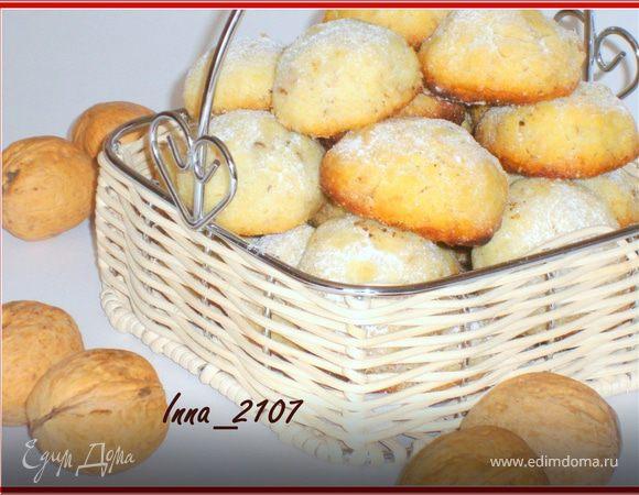 Печенье сливочное с орехами