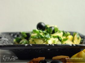 Салат из петрушки и лимонов