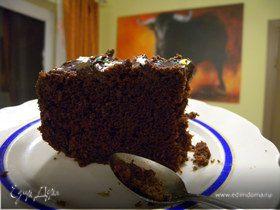 Бисквит на кипятке шоколадный