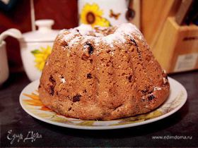 "Шоколадный кекс ""haricots"""
