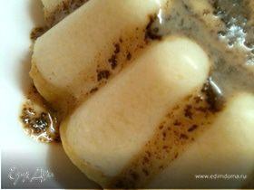 Бананово-шоколадный десерт