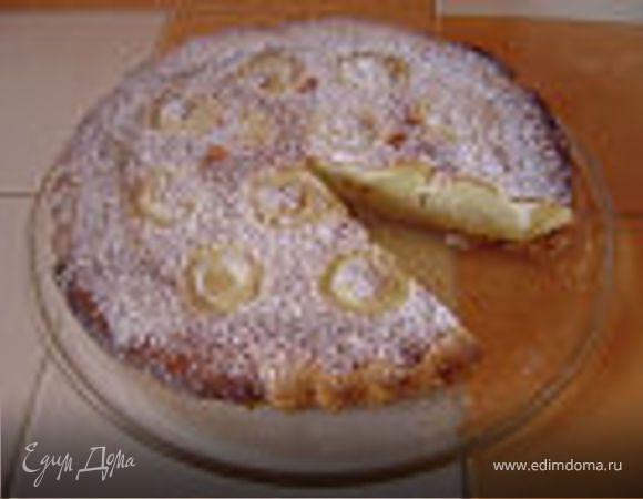 Торт с яблоками и маскарпоне