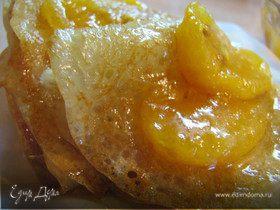 Масленица в разгуле, блины без яиц, но мандариновый конфитюр с коньячком :)