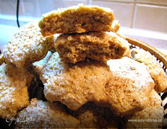 Печенье сахарно-ореховое