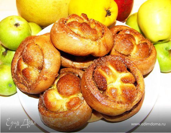 Пряные булочки (постный рецепт)